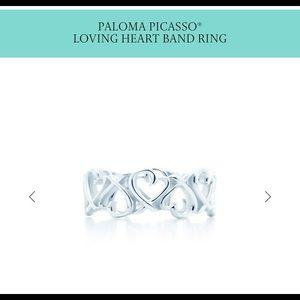 Tiffany Heart ring.